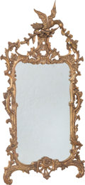 Furniture, A Chinese Chippendale-Style Carved Giltwood Mirror, 20th century. 63-7/8 x 33-3/8 x 6 inches (162.2 x 84.8 x 15.2 cm). PRO...