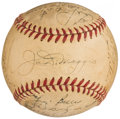 Autographs:Baseballs, 1951 New York Yankees - World Series Champs - Team Signed Baseball (25 Signatures)....