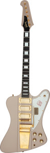 Musical Instruments:Electric Guitars, 2013 Gibson Firebird VII Poly Gold Mist Solid Body Electric Guitar, Serial # 030555....