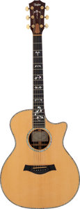 Musical Instruments:Acoustic Guitars, 1998 Taylor 914-C Natural Acoustic Guitar, Serial # 990813137....