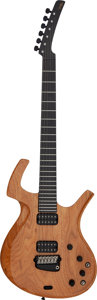 Musical Instruments:Electric Guitars, 1998 Parker Limited Edition Custom Natural Solid Body ElectricGuitar, Serial # 097068....