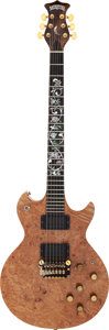 Musical Instruments:Electric Guitars, Moonstone Tree of Life Natural Solid Body Electric Guitar, Serial # 8180....