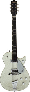 Musical Instruments:Electric Guitars, 1956 Gretsch 6129 Silver Sparkle Solid Body Electric Guitar, Serial #21977.. ...