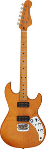 Musical Instruments:Electric Guitars, G & L F-100 Natural Solid Body Electric Guitar, Serial #G007466....