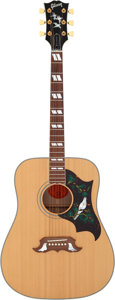Musical Instruments:Acoustic Guitars, 1997 Gibson Dove in Flight Natural Acoustic Guitar, Serial # 91027....