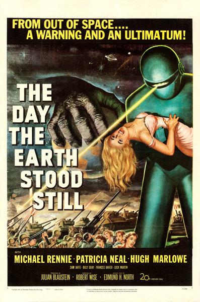 Still Pictures Are All Very Fine And >> The Day The Earth Stood Still 20th Century Fox 1951 Very Lot