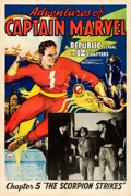 Movie Posters:Serial, Adventures of Captain Marvel (Republic, 1941). Very Fine o...