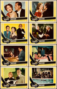 """Sunset Boulevard (Paramount, 1950). Fine/Very Fine. Lobby Card Set of 8 (11"""" X 14""""). ... (Total: 8 Items)"""