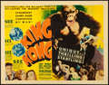 "Movie Posters:Horror, King Kong (RKO, 1933). Fine. Title Lobby Card (11"" X 14"").. ..."