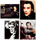 Memorabilia:Books, Frankenstein Must Be Destroyed and Other PeterCushing-Christopher Lee Films Lobby Cards and Stills Group of 7... (Total: 7 Movie Posters)
