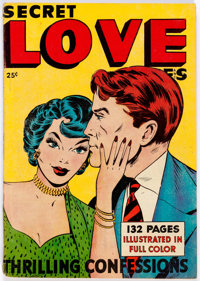 Fox Giants: Secret Love Stories (Fox Features Syndicate, 1949) Condition: VG/FN