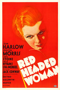 "Red Headed Woman (MGM, 1932). Very Fine+ on Paper. One Sheet (27.5"" X 41"") Style C"