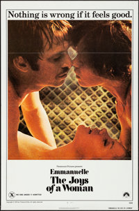 """Emmanuelle: The Joys of a Woman & Other Lot (Paramount, 1976) Flat Folded, Very Fine-. One Sheets (2) (27""""..."""