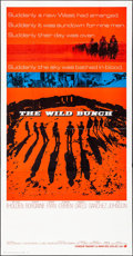 """Movie Posters:Western, The Wild Bunch (Warner Brothers, 1969) Folded, Very Fine. Three Sheet (41"""" X 79""""). Western...."""