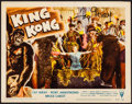 """Movie Posters:Horror, King Kong (RKO, R-1956) Very Fine-. Autographed Lobby Card (11"""" X 14""""). Horror...."""