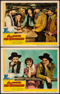 """Movie Posters:Western, The Westerner (United Artists, 1940) Very Fine-. Lobby Cards (2) (11"""" X 14""""). Western.... (Total: 2 Items)"""