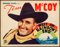 "Movie Posters:Western, West of Rainbow's End (Monogram, 1938) Very Fine-. Title Lobby Card (11"" X 14""). Western...."