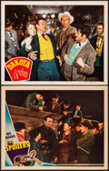 """Movie Posters:Western, The Spoilers & Other Lot (Universal, 1942) Very Fine. Lobby Cards (2) (11"""" X 14""""). Western.... (Total: 2 Items)"""