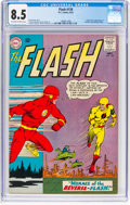 Silver Age (1956-1969):Superhero, The Flash #139 (DC, 1963) CGC VF+ 8.5 Off-white to white pages....