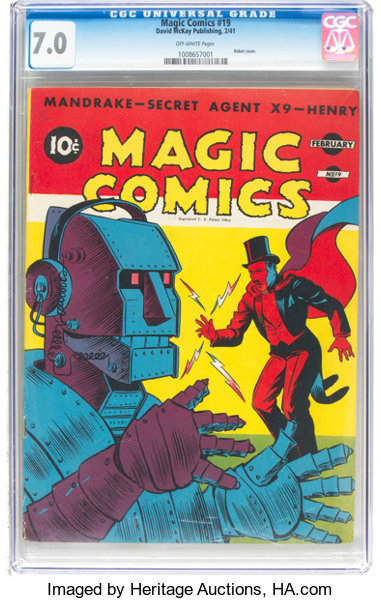Magic Comics #19 (David McKay Publications, 1941) CGC FN/VF