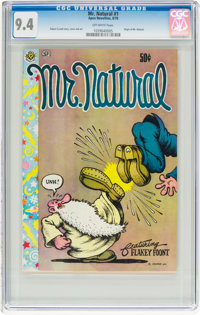 Mr. Natural #1 (Apex Novelties/San Francisco Comic Book Co., 1970) CGC NM 9.4 Off-white pages