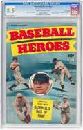 Golden Age (1938-1955):Non-Fiction, Baseball Heroes #nn Crowley Copy pedigree (Fawcett Publications, 1952) CGC VF+ 8.5 Cream to off-white pages....