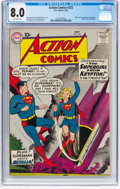 Silver Age (1956-1969):Superhero, Action Comics #252 (DC, 1959) CGC VF 8.0 Off-white pages....