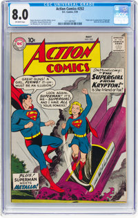 Action Comics #252 (DC, 1959) CGC VF 8.0 Off-white pages