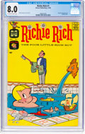 Silver Age (1956-1969):Humor, Richie Rich #1 (Harvey, 1960) CGC VF 8.0 Off-white to white pages....