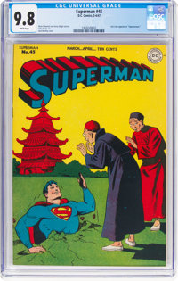 Superman #45 (DC, 1947) CGC NM/MT 9.8 White pages