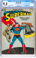 Golden Age (1938-1955):Superhero, Superman #26 (DC, 1944) CGC NM- 9.2 Off-white to white pages....