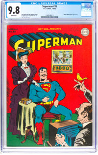 Superman #35 (DC, 1945) CGC NM/MT 9.8 White pages