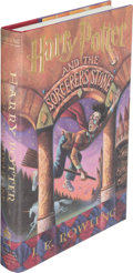 Books:Children's Books, J. K. Rowling. Group of Three Harry Potter Books. New York:1998-1999. First U. S. editions, later printings, si... (Total: 3Items)
