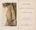 Books:Travels & Voyages, Richard F. Burton. First Footsteps in East Africa. London: 1856. First edition....