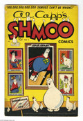 Golden Age (1938-1955):Cartoon Character, Al Capp's Shmoo Comics #2 (Toby Publishing, 1949) Condition: VG-.Overstreet 2004 VG 4.0 value = $56....
