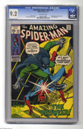 Bronze Age (1970-1979):Superhero, The Amazing Spider-Man #93 (Marvel, 1971) CGC NM- 9.2 Off-white pages. Prowler appearance. First appearance of Arthur Stacy....