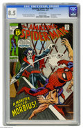 Bronze Age (1970-1979):Superhero, The Amazing Spider-Man #101 (Marvel, 1971) CGC VF+ 8.5 Off-white pages. First appearance of Morbius. Gil Kane art. Overstree...