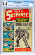 Silver Age (1956-1969):Superhero, Tales of Suspense #39 (Marvel, 1963) CGC FN- 5.5 Cream to off-whitepages....