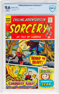 Chilling Adventures in Sorcery #1 (Archie, 1972) CBCS NM+ 9.6 White pages