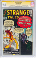 Silver Age (1956-1969):Superhero, Strange Tales #110 Signature Series (Marvel, 1963) CGC VF/NM 9.0Off-white to white pages....