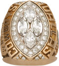 Football Collectibles:Others, 1993 Dallas Cowboys Super Bowl XXVIII Championship Ring Presented to Safety Joe Fishback....