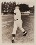 Baseball Collectibles:Photos, 1950's Mickey Mantle Original Photograph, PSA/DNA Type 1. ...