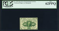 Fractional Currency:First Issue, Fr. 1241 10¢ First Issue PCGS New 62PPQ.. ...