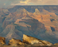 Ralph Love (American, 1907-1992) Grand Canyon, 1972 Oil on canvas 20 x 24 inches (50.8 x 61.0 cm)