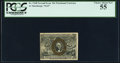 Fractional Currency:Second Issue, Fr. 1248 10¢ Second Issue PCGS Choice About New 55.. ...