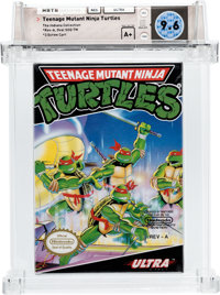 Teenage Mutant Ninja Turtles (NES, Konami, 1989) Wata 9.6 A+ (Seal Rating)