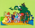 Animation Art:Presentation Cel, Journey Back to Oz Publicity Cel (Filmation, 1972)....