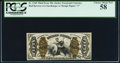Fractional Currency:Third Issue, Fr. 1345 50¢ Third Issue Justice PCGS Choice About New 58.. ...