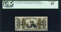 Fractional Currency:Third Issue, Fr. 1369 50¢ Third Issue Justice PCGS Extremely Fine 45.. ...