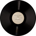 Music Memorabilia:Recordings, The Beatles Help! Interview Acetate LP (United Artists)....